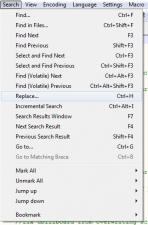 Double Line Breaks Fix - Notepad++ Search and Replace